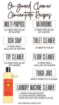 On Guard Cleaner Concentrate - Hol Vibe Wellness