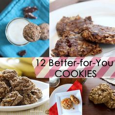 12 Better-for-You Cookie Recipes