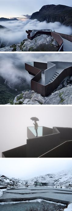 Trollstigen tourist premises in Norway by Reiulf Ramstad Architects