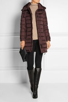 Burberry Brit | Quilted shell down jacket | NET-A-PORTER.COM