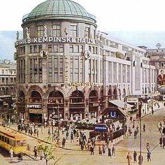Haus Vaterland am Potsdamer Paltz | #berlin #1920er #babylonberlin #nachtleben #berlinhistory #potsdamerplatz #hausvaterland Berlin Hotel, Potsdamer Platz, Historical Photos, Night Club, Wwii, Cities, The Past, Germany, Architecture