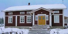 Pohjalaistalo uustuotantoa perinteiseen malliin - Rakennus Luoma Oy,  Alajärvi