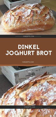 Dinkel Joghurt Brot Zutaten 700 g Dinkelmehl Type 630 100 g Roggenmehl 350 ml Wasser, lauwarm 20 g Hefe 3 TL, gestr. Salz 1 EL Honig 150 g Joghurt Stecken Sie das Bild un. Pampered Chef, Grilling Recipes, Pizza Recipes, Bread Recipes, Yogurt Bread, Spelt Flour, Rye Flour, Pumpkin Spice Cupcakes, Bread Baking