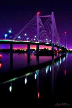 Cable bridge, Washington