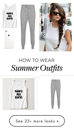 """Chill Outfit"" by aleksandraislamaj on Polyvore featuring women's clothing, women's fashion, women, female, woman, misses and juniors"