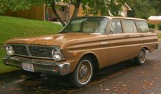 1965 Ford Falcon 4-Door Station Wagon
