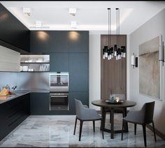 Маленькие кухни - 35 фото кухонь в интерьере. Красивый интерьер малогабаритной кухни есть!