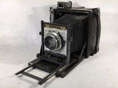 Graflex Speed Graphic 4x5 Large Format Press Film Camera 127mm Kodak Ektar Lens   eBay