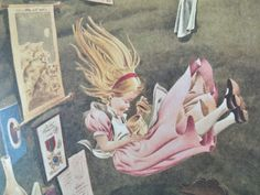 My Book of Alice in Wonderland 1966 by BumperBoxofDelights on Etsy, £12.50