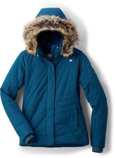 Whether in the city or up in the mountains, the timeless Obermeyer Tuscany II women's insulated jacket delivers warmth and weather protection in a sophisticated package. Available at REI, 100% Satisfaction Guaranteed.