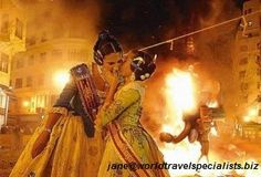 Las Fallas held in Valencia March 15-19.  An exciting Cuban street festival in Little Havana, with food and live music.  jane@worldtravelspecialists.biz