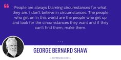 A #quote by George Bernard Shaw