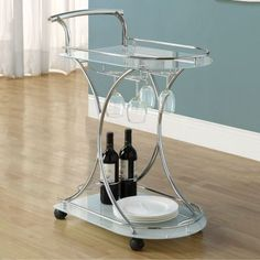 fabulous bar cart for less than $50 - get on it!