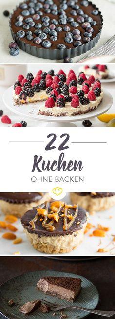 Diese 8 Kuchenleckereien brauchen keinen Ofen, sondern lediglich ein ruhiges Eckchen im Kühlschrank.