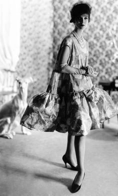 Balenciaga baby doll dress 1958