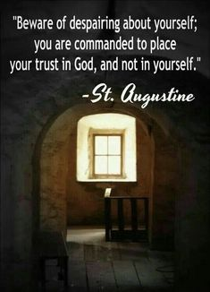 Augustine was a Latin philosopher and theologian from Roman Africa. His writings were very influential in the development of Western Christianity. Catholic Quotes, Catholic Prayers, Catholic Saints, Religious Quotes, Roman Catholic, Spiritual Quotes, Catholic Religion, Augustine Of Hippo, St Augustine Quotes