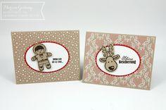 Stampin' Up, Ausgestochen weihnachtlich, Cookie Cutter, Weihnachtskarte, Zuckerstangen DSP