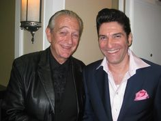 Charlie Musselwhite on the left, Bob Corritore, blues harmonica player on the right