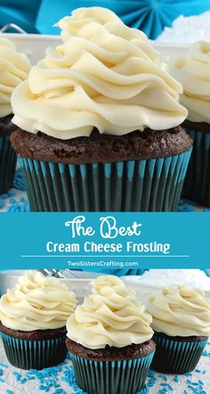 The Best Cream Cheese Frosting is the perfect version of this classic frosting It is super delicious and so easy to make Sweet creamy and so very yummy your family will b. Cream Cheese Buttercream Frosting, Icing Frosting, Frosting Recipes, Cupcake Recipes, Baking Recipes, Dessert Recipes, Cake Frosting Recipe, Recipe For Cream Cheese Frosting For Carrot Cake, Creamcheese Frosting Recipe