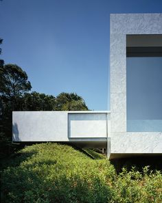 High in the Izu-San hills of Japan sits this amazingly simple house called Plus by Mount Fuji Architects Studio.