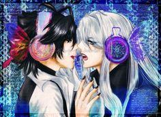 Akira y Shirogane- Magnet by Mitzume-Naye.deviantart.com on @DeviantArt