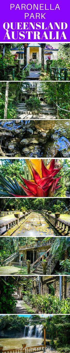 Paronella Park in North Queensland is a top attraction near Cairns Australia.