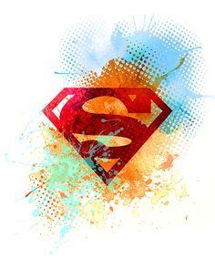 Superman / instant download / printable art / por TalkingJam