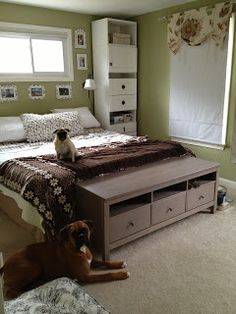 this is my latest design ikea hack it 39 s a hemnes tv unit changed out knobs for starfish. Black Bedroom Furniture Sets. Home Design Ideas