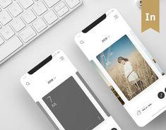 """다음 @Behance 프로젝트 확인: """"Card Diary - iOS App"""" https://www.behance.net/gallery/59120015/Card-Diary-iOS-App"""