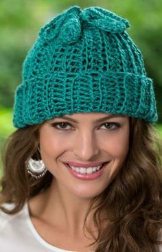 Two-for-One Hat and Cowl Free Crochet Pattern from Red Heart Yarns