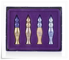 """eye primer from Urban Decay, cant live without it!  My favorite color is 2nd from left.  It is called """"sin"""""""
