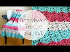 How To Crochet the Boardwalk Breeze Blanket, Episode 324 - YouTube