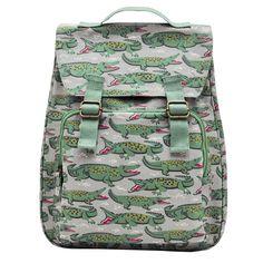 Back to School   Crocodile Backpack   CathKidston #backtoschool #fallfashion #backpacks #fall #school #fashion