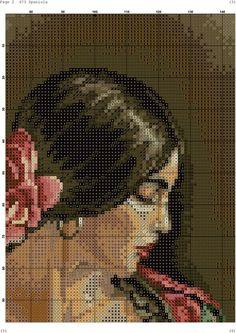 Photo Cross Stitch Angels, Cross Stitch Rose, Counted Cross Stitch Patterns, Cross Stitch Embroidery, Newspaper Art, Cross Stitch Pictures, Ancient Egyptian Art, Brick Patterns, Canvas Art