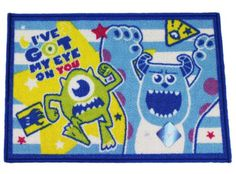 Blue I've Got My Eye On You Monsters University Bath Rug Disney http://www.amazon.com/dp/B00K8D0CZ2/ref=cm_sw_r_pi_dp_J4b7tb0DNP1YJ