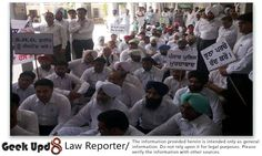 Mansa (Punjab) District Lawyers on Strike in protest to a False Case registered against Senior Advocate Sh.Gurdial Singh Gill | Geek Upd8
