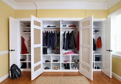 Tidy closet spaces