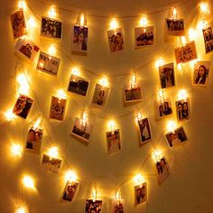 20 LED Garland Card Photo Clip String Lights for New Year Christmas Festival Party Wedding Lamp Home Decoration led light Buy Led Lights, Led Curtain Lights, Led Fairy Lights, Battery Operated Christmas Lights, Christmas String Lights, Holiday Lights, Christmas Tree, Led Garland