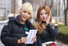 [16.03.12] 음악중심 팬미팅 | 포텐 4TEN Hyeji (혜지) & Hyejin (혜진)