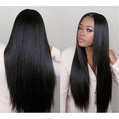 7A 페루 처녀 머리 직선 1 번들 페루 직선 처녀 머리 확장 처리되지 않은 페루 처녀 인간의 머리 번들