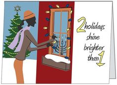 17 Holiday Cards For Families Who Know Chrismukkah Is The Best