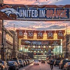 The Denver @Broncos will hold a #BroncosCountryPlayoffs rally from 12-1:30pm tomorrow Friday Jan. 22nd at historic #LarimerSquare. Broncos Cheerleaders Miles the Mascot Thunder and The Stampede drumline will all be in attendance. Fans will also have the opportunity to take photos with the team's Lombardi trophies. Don't miss out!! #UnitedinOrange #BeatThePatriots #GoBroncos #Denver #Broncos Photo credit: @roman_tafoya