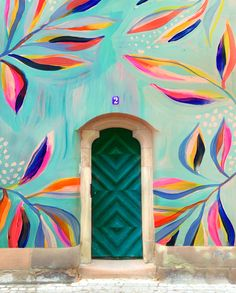 Wall Colors, Paint Colors, Mural Wall Art, Decoration Design, Hello Gorgeous, Outdoor Walls, Graffiti, Gallery Wall, Art Prints