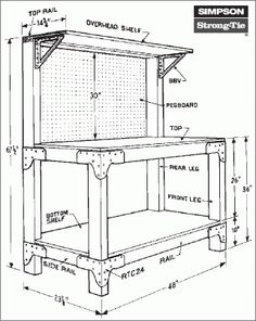 Free work bench plans Does your current workbench consist of two sawhorses and an old door slab Well Improve your skills with Fine Woodworking s Reloading Bench Plans, Reloading Room, Workbench Plans Diy, Workbench Designs, Woodworking Bench Plans, Woodworking Projects Diy, Woodworking Furniture, Fine Woodworking, Diy Projects