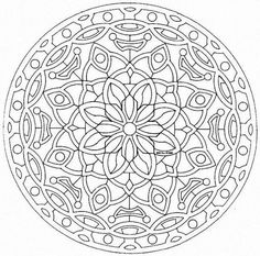 free kalediscope coloring pages - photo#26