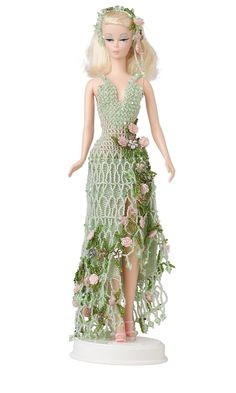 Jewelry Design - Doll with Seed-Beaded Dress - Fire Mountain Gems and Beads