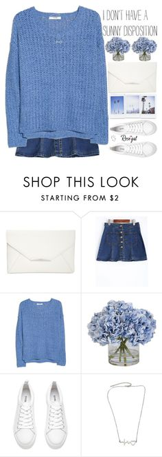 """""""be patient, good things are coming your way"""" by alienbabs ❤ liked on Polyvore featuring Style & Co., MANGO, Ethan Allen, H&M, clean, organized and rosegal"""