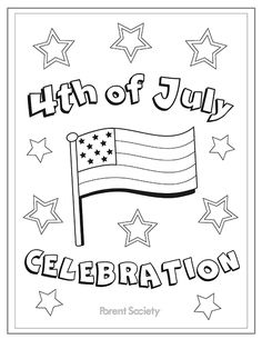 Elegant 4th Of July Color Pages