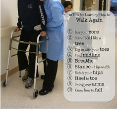 10 Tips for Learning How to Walk Again || Ann Ning Learning How