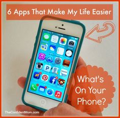 iPhone Apps That Make My Life Easier - keeping track of everything can be tough, why not get some help?  I share 6 of my favorite APPS that I love